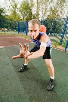Free Street Basketball Stock Photography - 15639382