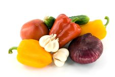 Free Summer Vegetables Stock Photography - 15639762
