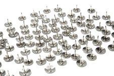 Free Silver Tacks Stock Photography - 15639842