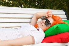 Free Girl At The Park Royalty Free Stock Photography - 15639997