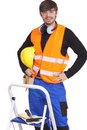 Free Happy Manual Worker Royalty Free Stock Images - 15640319