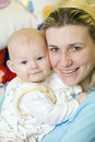 Free Mother With Her Baby Stock Images - 15642534