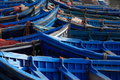Free Blue Fishing Boats Stock Photos - 15642913