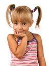 Free Portrait Of Emotionally Kid Stock Photography - 15646342