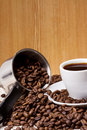 Free Pot And Cup Of Coffee Royalty Free Stock Images - 15646659