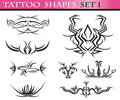 Free Tattoo Shapes Set 1 Stock Photography - 15649092