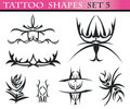 Free Tattoo Shapes Set 5 Stock Image - 15649131