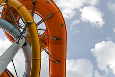 Free Water Park Slide Construction Royalty Free Stock Images - 15640169