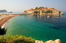 Free Sveti Stefan, Montenegro Stock Photos - 15640353