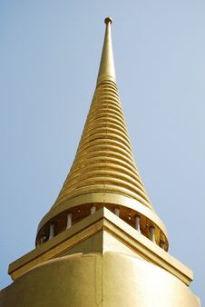 Golden Buddha Pagoda Stock Photography