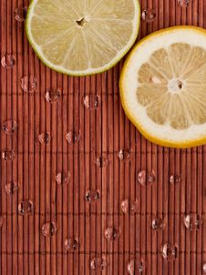 Free Lemon And Lime Slices Stock Photo - 15640800