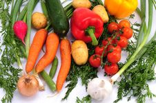 Free Vegetables Collection Stock Images - 15640874