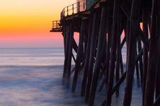 Morning Pier Royalty Free Stock Photo