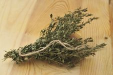 Free Bundle Of Dried Herbs. Royalty Free Stock Image - 15641246