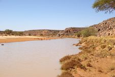 Free River In Libya Royalty Free Stock Photos - 15641358