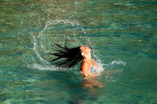 Free Having Fun In Adriatic Waters Royalty Free Stock Photos - 15641958