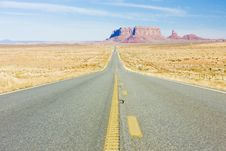 Monument Valley NP Royalty Free Stock Images