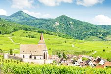 Free Village Of Hunawihr, Alsace Royalty Free Stock Photo - 15642025
