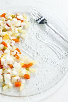 Free Potato Salad Royalty Free Stock Photo - 15642285