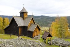 Free Uvdal Stavkirke, Norway Royalty Free Stock Photos - 15642438