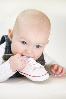Free Baby Girl Royalty Free Stock Photo - 15642695