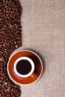 Free Cup Of Coffee Royalty Free Stock Image - 15643296