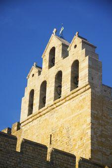 Free Church Of Saintes Maries De La Mer Royalty Free Stock Photos - 15643388