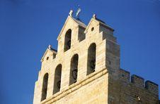 Free Church Of Saintes Maries De La Mer Royalty Free Stock Images - 15643399