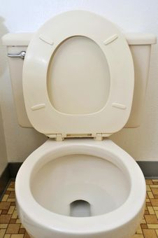 Free Toilet Seat And Bowl Stock Photography - 15644392