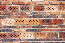 Free Old Red Brick Wall Stock Image - 15644451