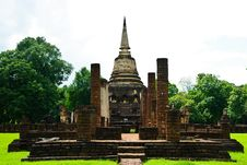 Free Sukhothai Buddha Royalty Free Stock Photos - 15644808