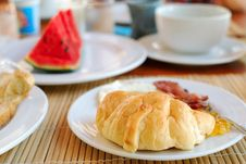 Free Croissants Royalty Free Stock Photography - 15645387