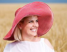 Free Woman With Hat Stock Photo - 15646360