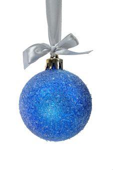Free Christmas Ball Over White Stock Photography - 15647102