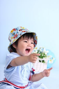 Free Baby Girl Royalty Free Stock Image - 15647206