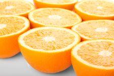 Free Orange Halves Royalty Free Stock Photo - 15647685