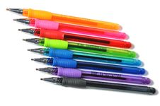 Free Assortment Of Colored Ball-pen Royalty Free Stock Image - 15647796