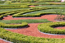 Free Ornamented Garden Royalty Free Stock Image - 15648096