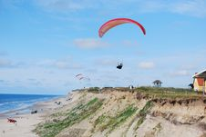 Free Paragliders Stock Images - 15648504