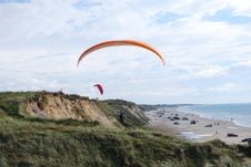 Free Paragliders Stock Image - 15648511