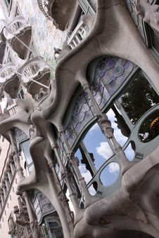 Free Batllo House By Gaudi, Barcelona Stock Photography - 15648822
