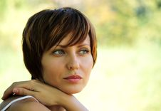 Free Face Of A Young Girl Stock Photos - 15648883