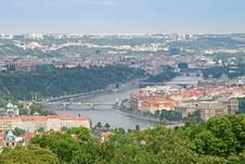 Free Prague, The Moldau River Royalty Free Stock Photography - 15649157