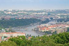 Free Prague, The Moldau River Royalty Free Stock Photography - 15649157