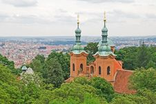 Free Church Of St. Laurence On Petrin, Prague Royalty Free Stock Images - 15649309
