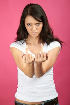 Free Angry Bad Woman Stock Image - 15649371