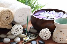 Free Spa Royalty Free Stock Image - 15649556