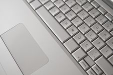 Free Laptop Computer Keyboard And Mouse Stock Photography - 15649612