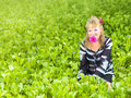 Free Woman In Grass Stock Photo - 15651460