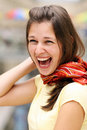 Free Happy Young Woman Royalty Free Stock Photos - 15651548